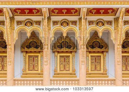 Windows Of Thai Church