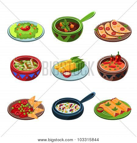 Mexican National Food Set
