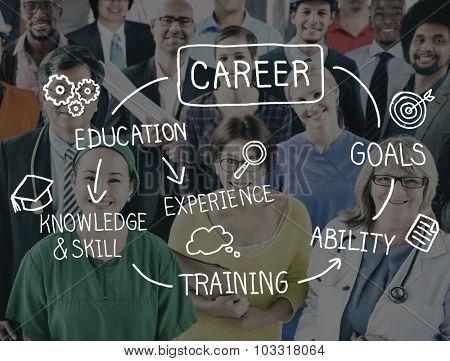 Careers Employment Job Recruitment Occupation Concept