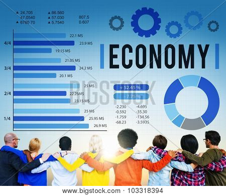 Economy Investment Financial Money Currency Concept
