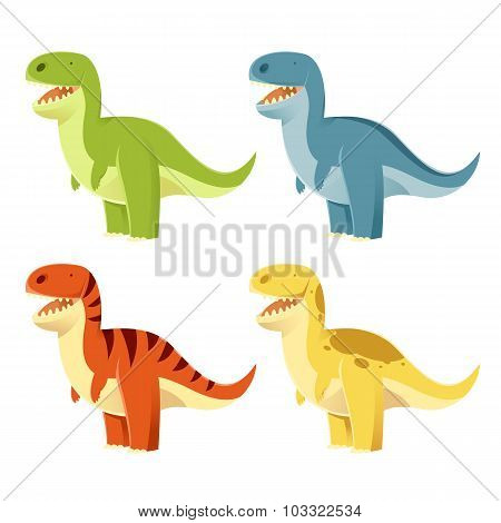 Set of t-rex