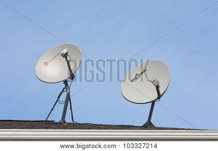 Shaw And Xplornet Wireless Dishes