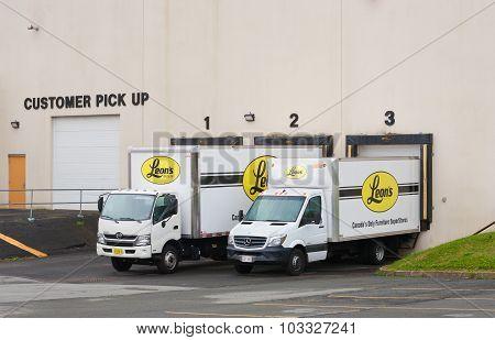 Leon's Delivery Trucks
