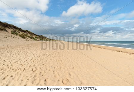 Hemsby Beach In Norfolk
