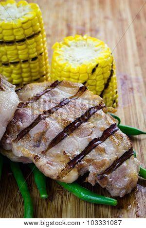 Grilled Pork.