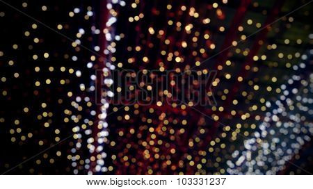 Light Bokeh Blurred Background