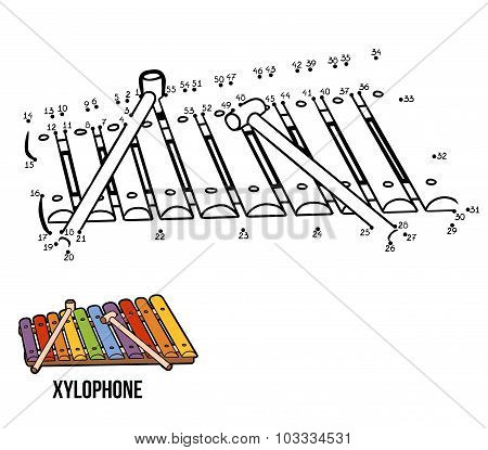 Numbers Game: Musical Instruments (xylophone)