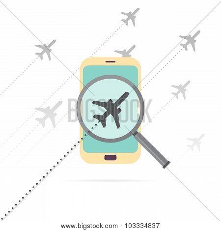 Mobile Flight Search