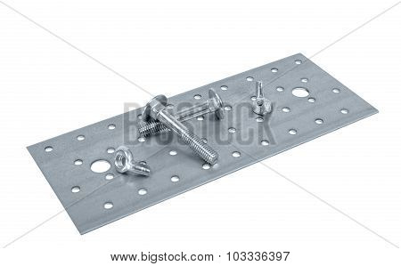 Perforated Metal Plate Furniture Screw And Nuts