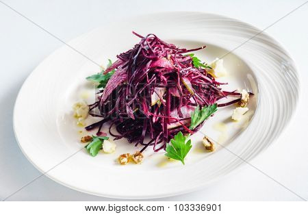 salad with cabbage