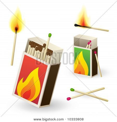 Matchboxes And Matches