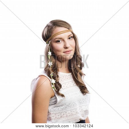 Beautiful young teenage girl