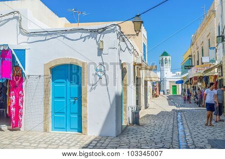 The Street With The Minaret