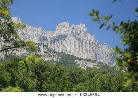 Mount Ai-petri.