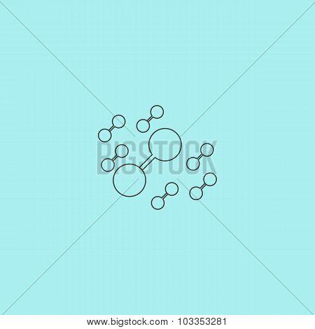 Molecule atom icons
