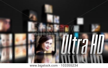 Ultra Hd Concept, Lcd Panels