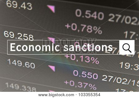 Economic sanctions