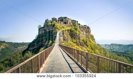 Bagnoregio - Lazio - Viterbo Italian Village