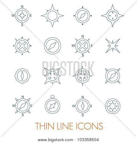 Set of compasses
