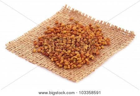 Fenugreek Seeds In Sack