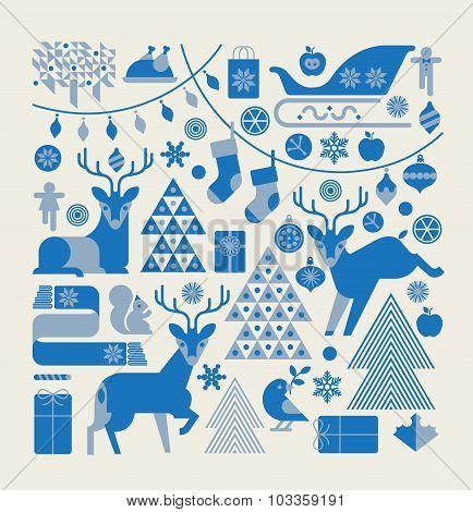 .christmas Composition