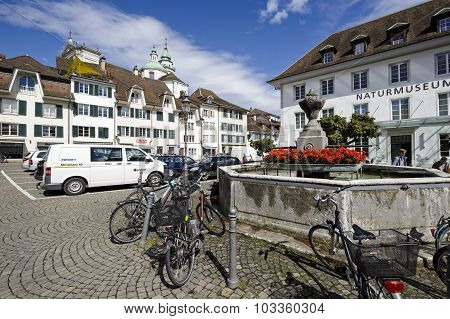 Cityscape Of The City Solothurn