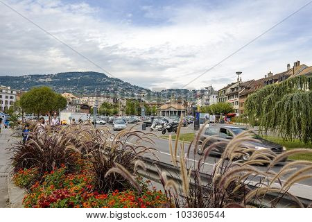 General View To City Vevey