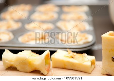 Making Apple Pastries