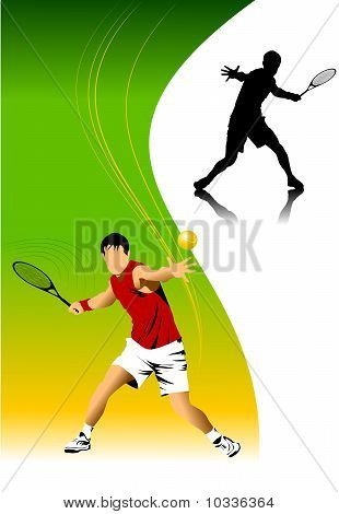 Tennis In Red