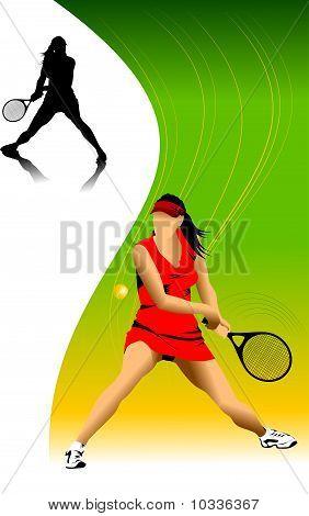 Woman In Tennis
