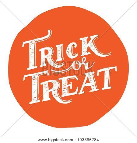 Trick Or Treat Design.