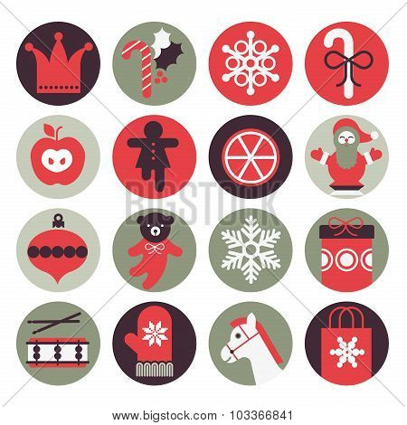 Christmas Gifts Icons
