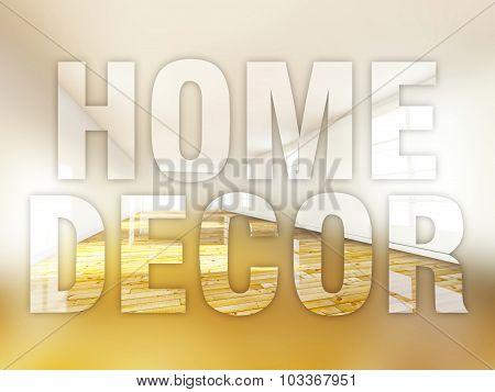 Home Decor, Creative Conceptual Illustration
