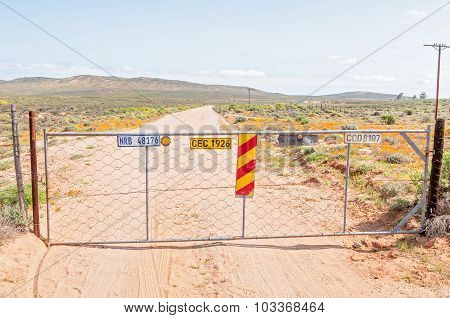 Gate On The Road To Sarrisam