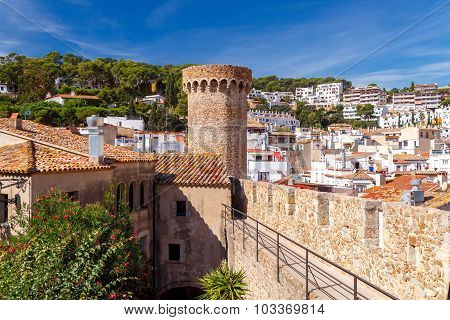 Tossa de Mar. Old Fortress.