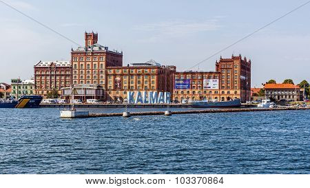 Kalmar viewed out of the boat