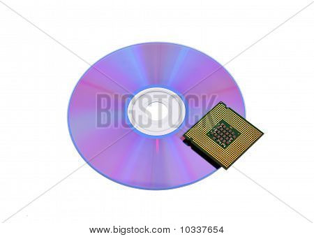 Optical Disk And Cpu