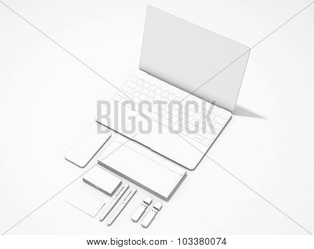 White Corporate Identity Template