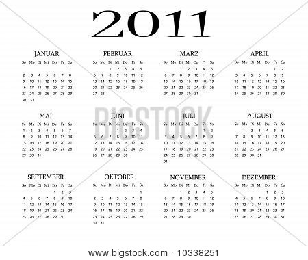 German Calendar 2011.eps