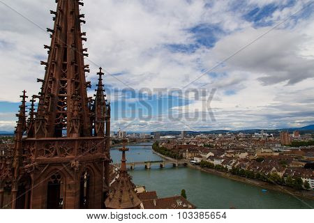 View from Basel Minster