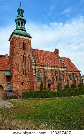 Gothic monastery church