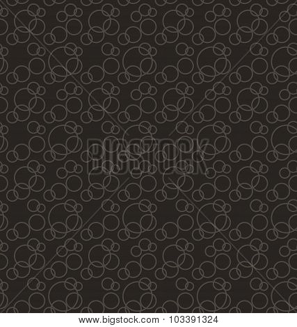 Seamless Pattern Stylish Texture with Interlacing Rings