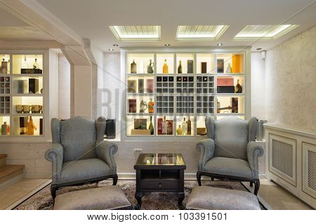 Interior Of Classic Furniture In Home Interior