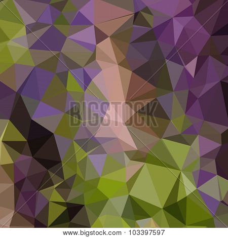 Palatinate Purple Abstract Low Polygon Background