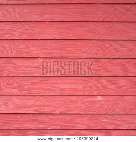Red Wood Plank Panel Texture Background