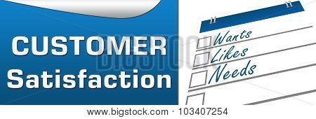 Customer Satisfaction Horizontal