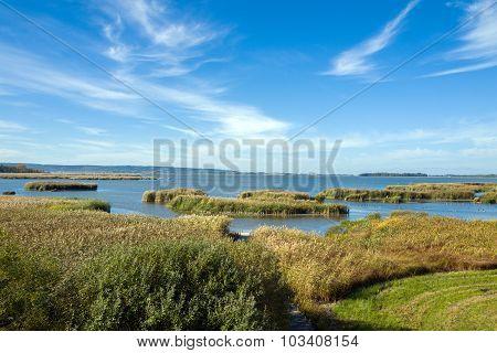 Lake Takern in Sweden