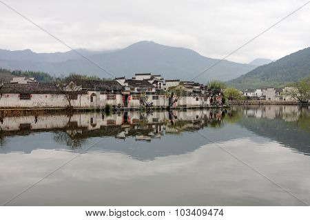 Hongcun, Ancient village in south China.