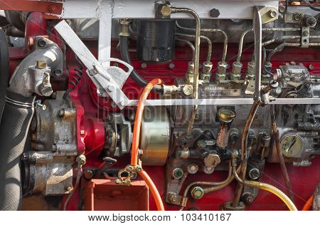 Diesel Engine Part Of Power Plant