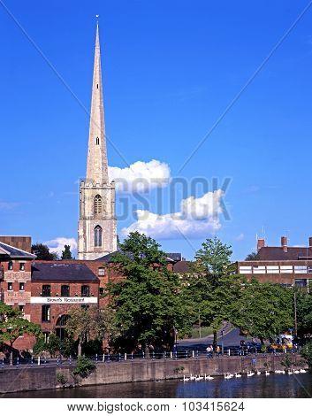 St Andrews Spire, Worcester.